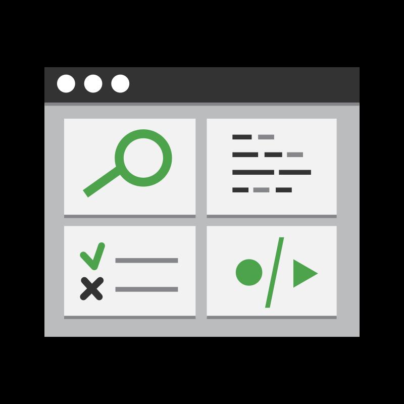 Mächtige und intuitive Test-Entwicklungsumgebung