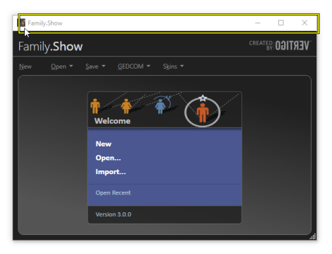 Family.Show Windows App