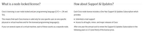 Coco Licenses