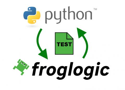Python Froglogic
