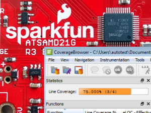 Retrieving Code Coverage from ARM Cortex-M Microcontrollers