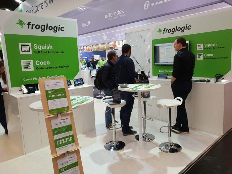 froglogic at Embedded World 2019