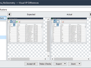 Visual Verification Points – Using the VisualVP Editor