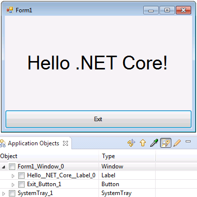 Hello .NET Core