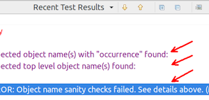 Detecting Problematic Object Names Automatically