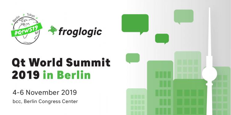 Qt World Summit 2019 Berlin