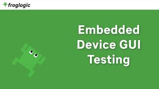 Tutorial Embedded Device GUI Testing
