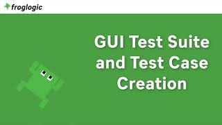 Tutorial GUI Test Suite and Test Case Creation