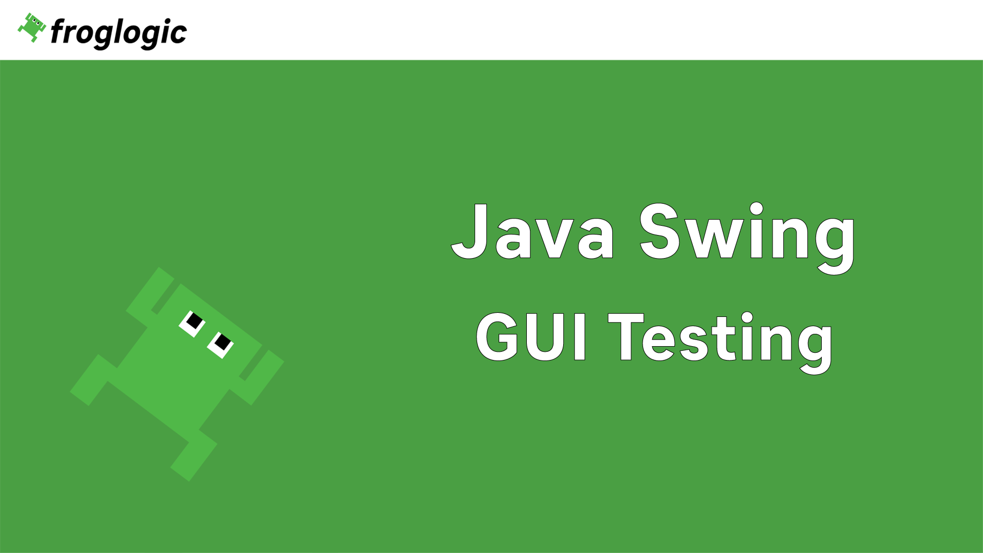 Tutorial Java Swing GUI Testing
