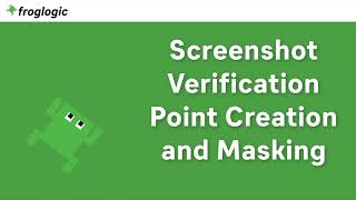 Tutorial Screenshot Verification Point Creation and Masking