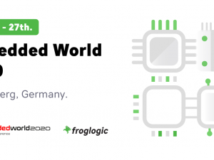 Meet froglogic at Embedded World 2020