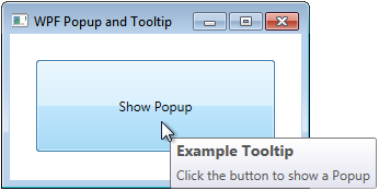 WPF Tooltip