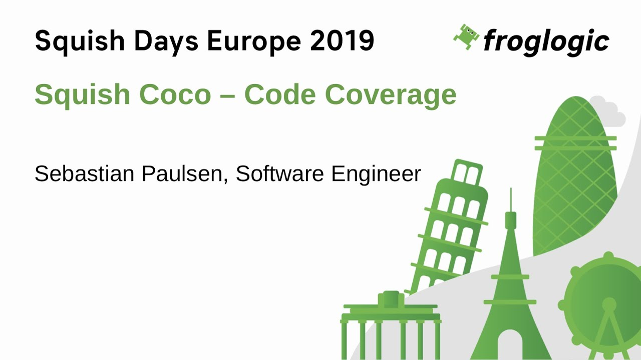 SquishDays 2019: Introduction to Test Coverage with Squish Coco