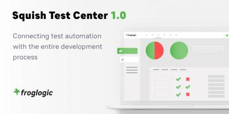 Squish Test Center Release Announcement Graphic