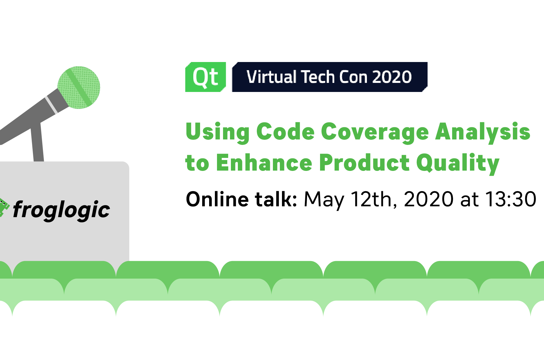 froglogic Tech Talk at Qt Virtual Tech Con 2020