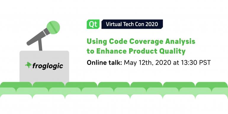 froglogic Tech Talk at Qt Virtual Tech Con 2020