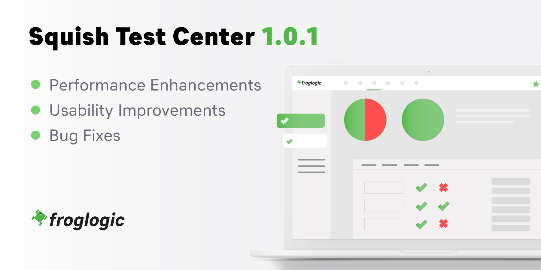 Squish Test Center 1.0.1 Release Graphic