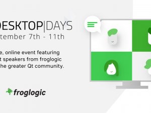 froglogic at Qt Desktop Days: Tech Talks on Product Quality and Automation
