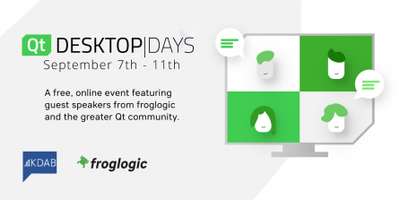 froglogic at Qt Desktop Days