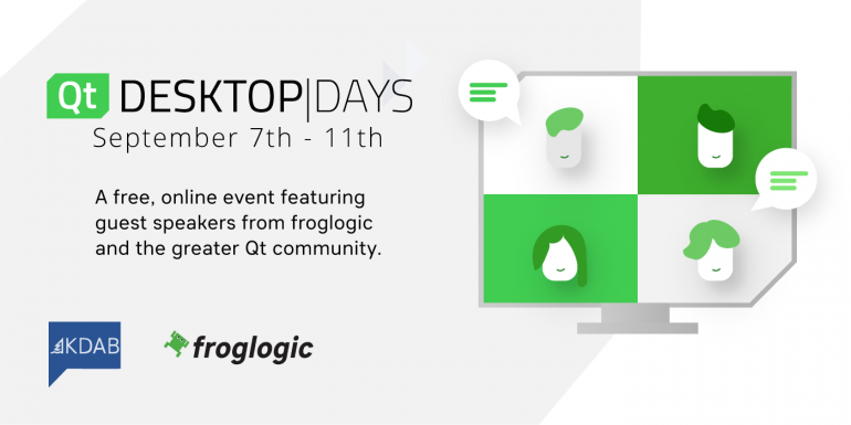 froglogic at Qt Desktop Days