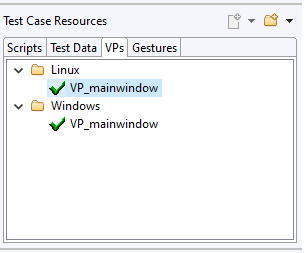 Squish IDE: Test Case Resources Dialog