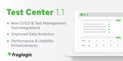 Test Center 1.1 Release